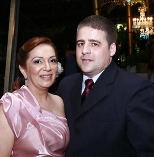 O juiz Dr. Antônio Augusto Calais e Ane