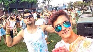 Eduardo Brasil e Juan Ramos