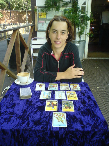 KP - Tarot readings at the cafe by szczel