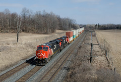 Long container train
