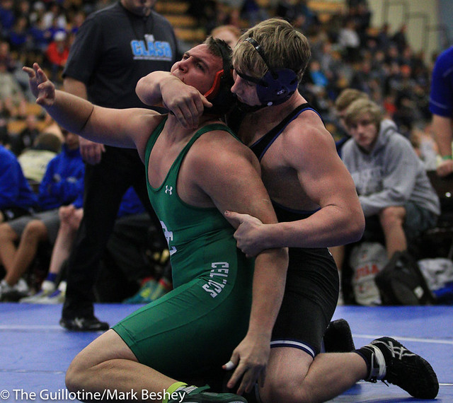220 - Griffin Thorn (Owatonna) over Berkley Linthicum (Providence Catholic) Fall 2:00