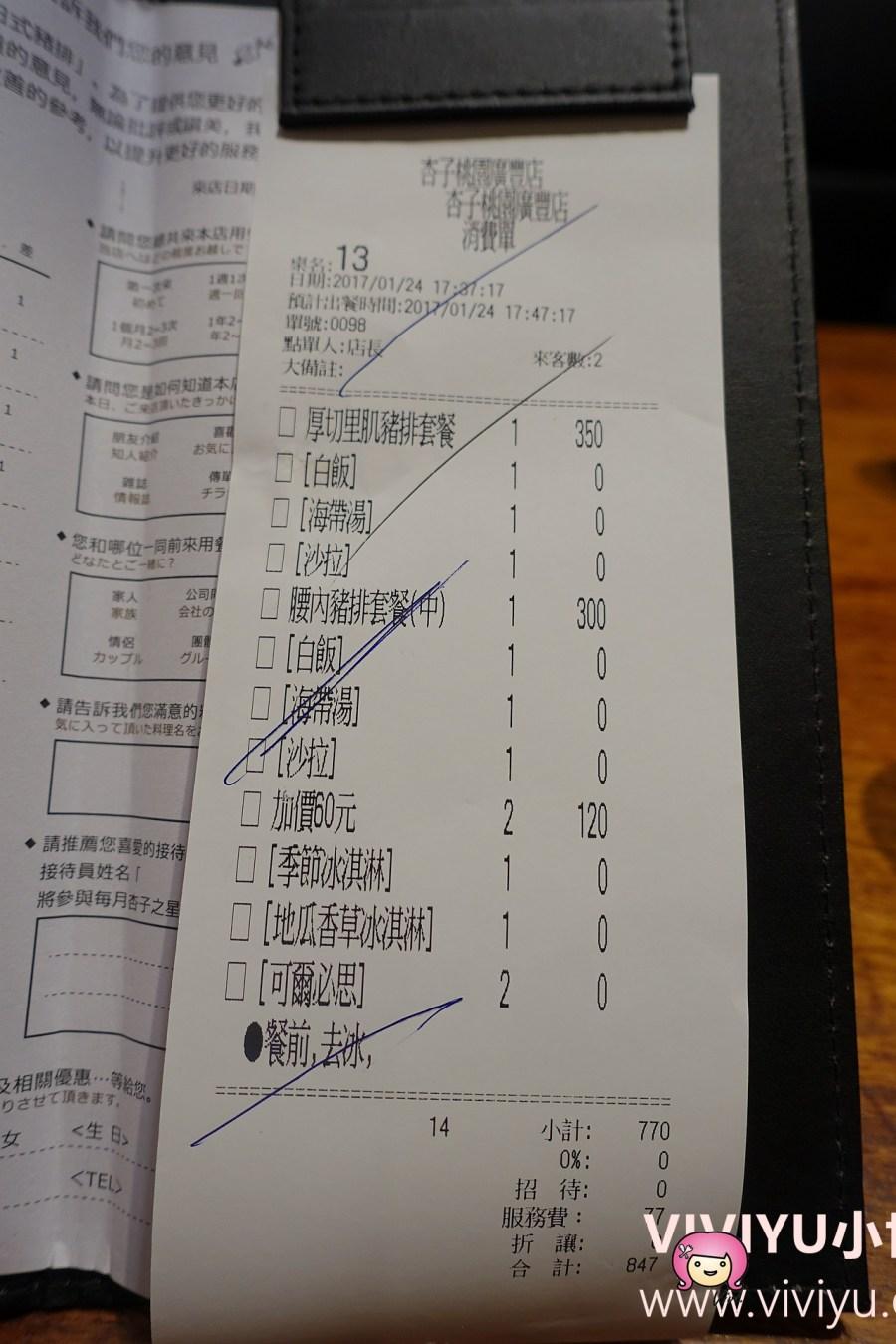 [八德.美食]銀座杏子日式豬排~廣豐新天地美食餐廳.高麗菜絲.白飯免費續吃 @VIVIYU小世界