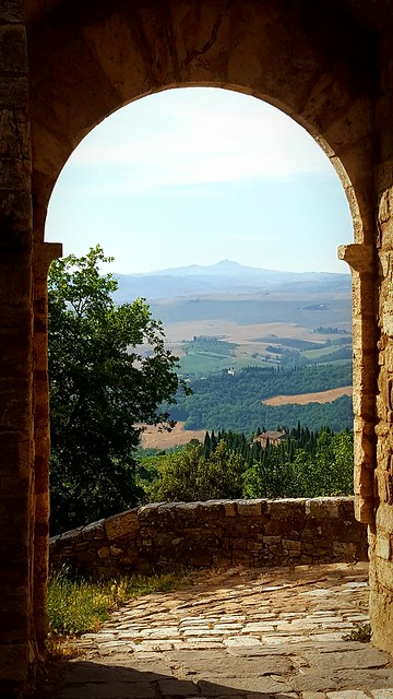 Via Francigena - San Quirico - Gallina