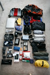 all that I am taking with me to china and thailand for 18 days. by Robert Scales