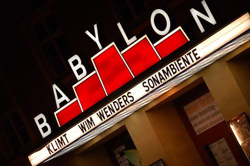 Das umstrittene Kino Babylon Mitte