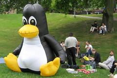 """""""Linux in the Park"""" by Flickr user John Vetterli"""