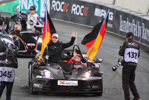 Team Germany at The Race of Champions, Olympic Stadium, London, November 2015