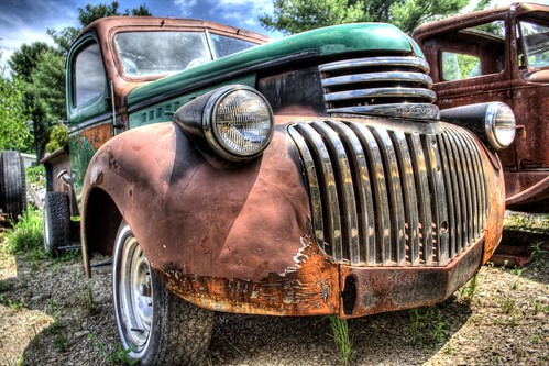 Fat Lip (Old Chevy Truck) by Lawrence Whittemore.
