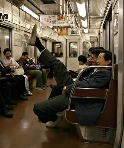 Party Commuter by JanneM.