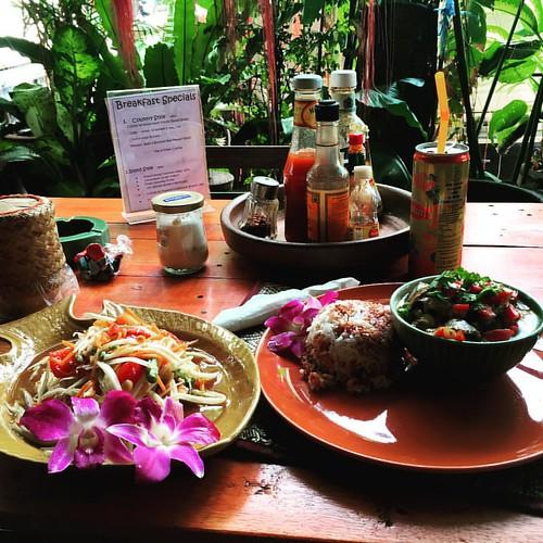 #SomTam  #nomnomnom as @_fabiandietrich_ recommended @ #ShantiLodge #Bangkok #Thailand  #thailoup #traveloup
