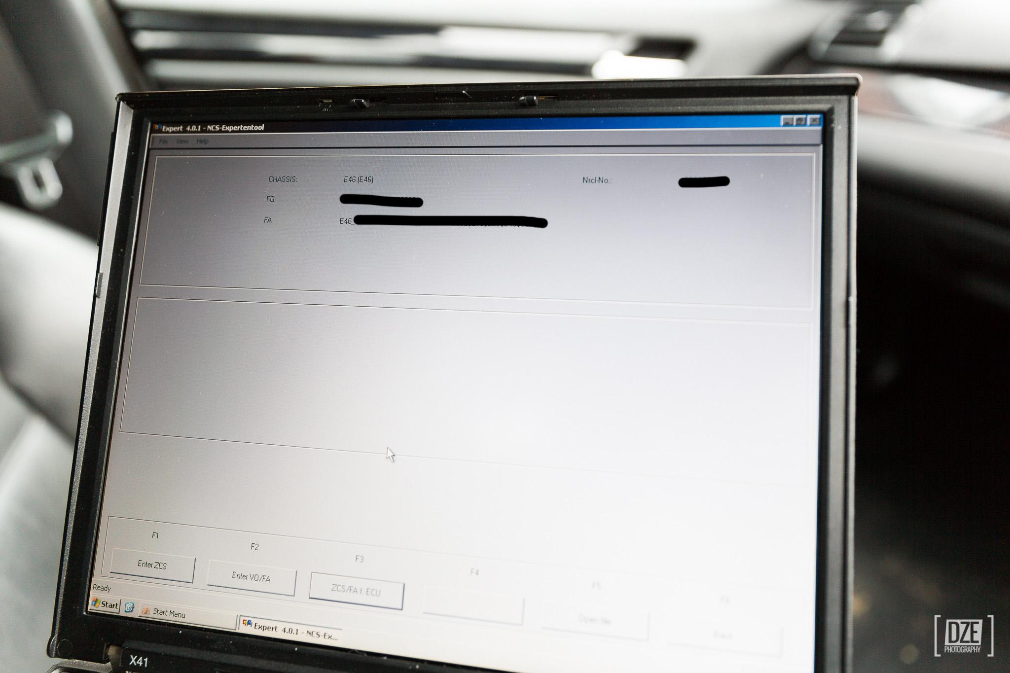 NCS Expert coding detailed how-to guide – E46   Daze's E46 330D