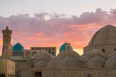 Sunset. Bukhara
