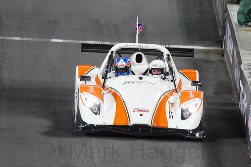 Jolyon Palmer in The Race of Champions, Olympic Stadium, London, November 2015