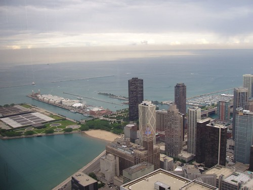 Navy Pier from the Hancock Building