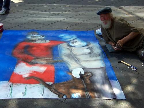 Street performer, jÖrg, Flickr