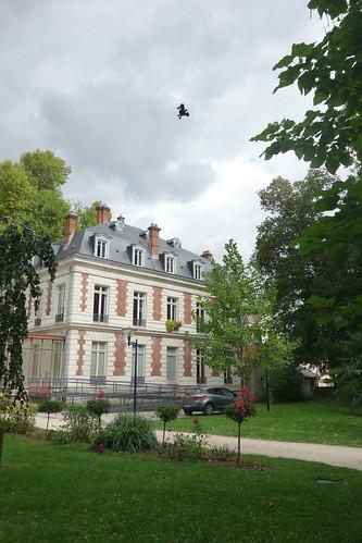 L'heure de quitter Dammarie-les-Lys et son château !