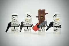LEGO Stormtrooper Tree Trunk