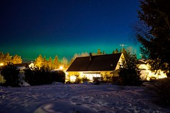 Northern Lights switched back on in #Uppsala #Sweden 😄 #Sony #a6000 #Zeiss #Batis #18mm