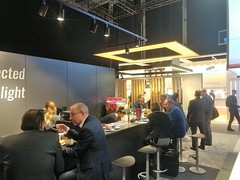"""2018 Hummer Event Cratering mobile smoothiebar Frankfurt Messe light and building~08 • <a style=""""font-size:0.8em;"""" href=""""http://www.flickr.com/photos/69233503@N08/39180638670/"""" target=""""_blank"""">View on Flickr</a>"""