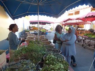 St Denis market
