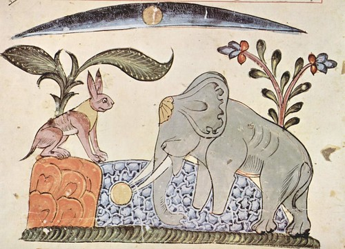 "Animal-Animal-acting-human-Elephant-listening-to-rabbit-Syrischer_Maler_von_1354_0011 • <a style=""font-size:0.8em;"" href=""http://www.flickr.com/photos/15706268@N04/40773392192/"" target=""_blank"">View on Flickr</a>"