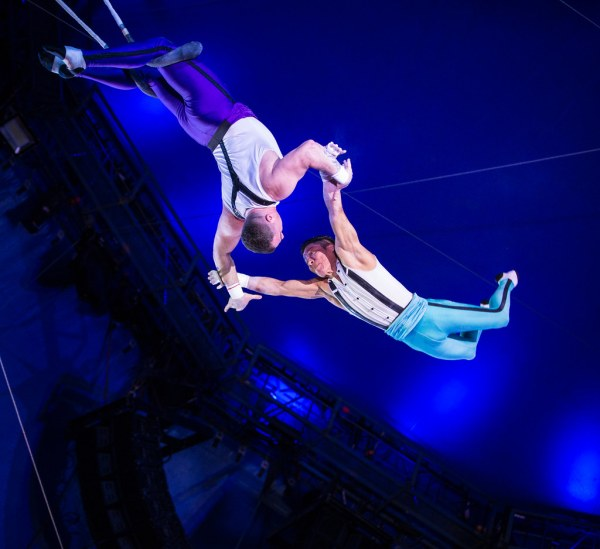 World' Of Artist And Trapeze
