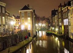 A photo of the Oude Gracht in Utrecht, the Netherlands taken by Josef F. Stuefer