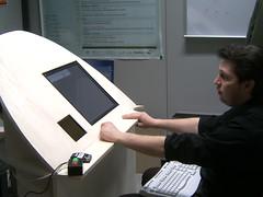 Prototipo chiosco voto elettronico
