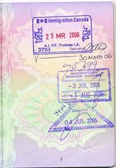 British Passport, Canada, Thailand