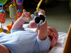 Samuel 1 month old