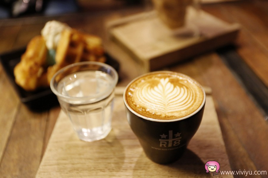Ristr8to,世界拉花,咖啡拉花,泰國美食,清邁咖啡館,清邁美食 @VIVIYU小世界