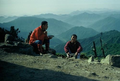 Naive mountain hikers