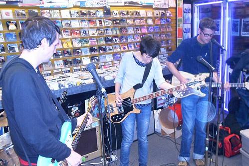 Shotgun & Jaybird live! in-store performance at Music Trader on October 26 2006