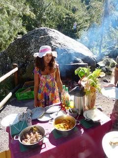 Creole picnic with Raymonda Gontier