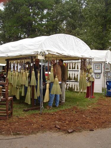George Jones Jr.'s Brooms at Kentuck 2006