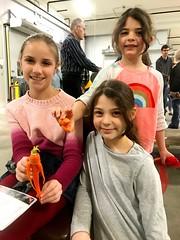 Workship 18 Girls Carrot Person