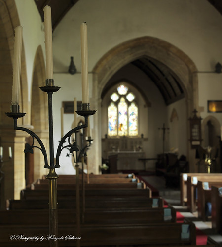 Candles; St. Michael's Church, Enmore, Somerset