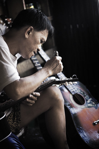 cebu guitar making craftsman handicraft Pinoy Filipino Pilipino Buhay  people pictures photos life Philippinen  菲律宾  菲律賓  필리핀(공화�) Philippines