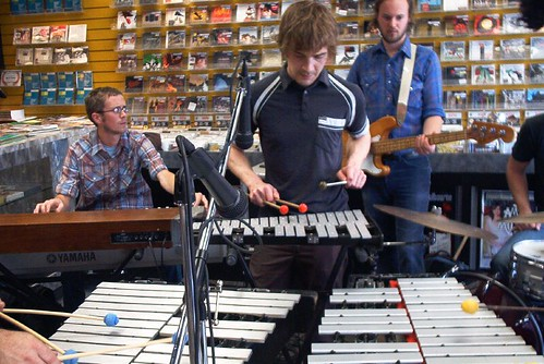 Hylozoists live! in-store performance at Music Trader on Sept.15 2006