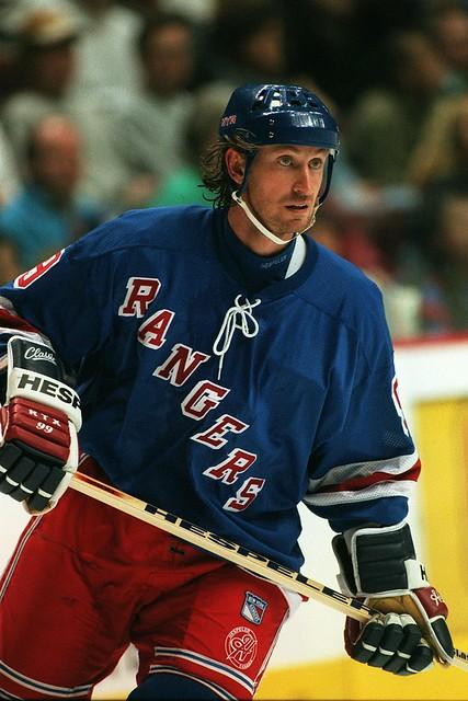 Wayne Gretzky New York Rangers