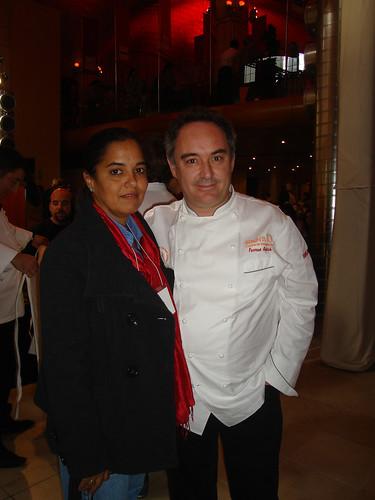 Ferran Adri? y Mar?a Luisa R?os