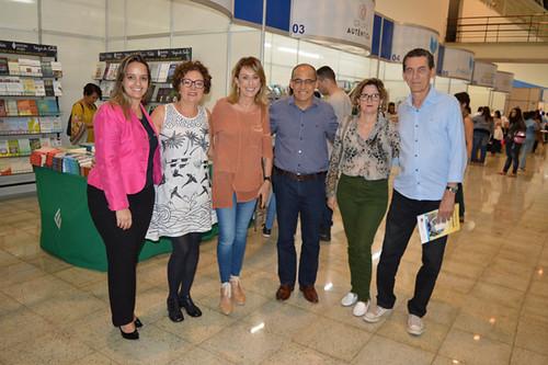 Penélope Portugal, Cibele Teixeira, Raquel de Carvalho, Roberto Maia, Elvira Nascimento e Mário Carvalho Neto