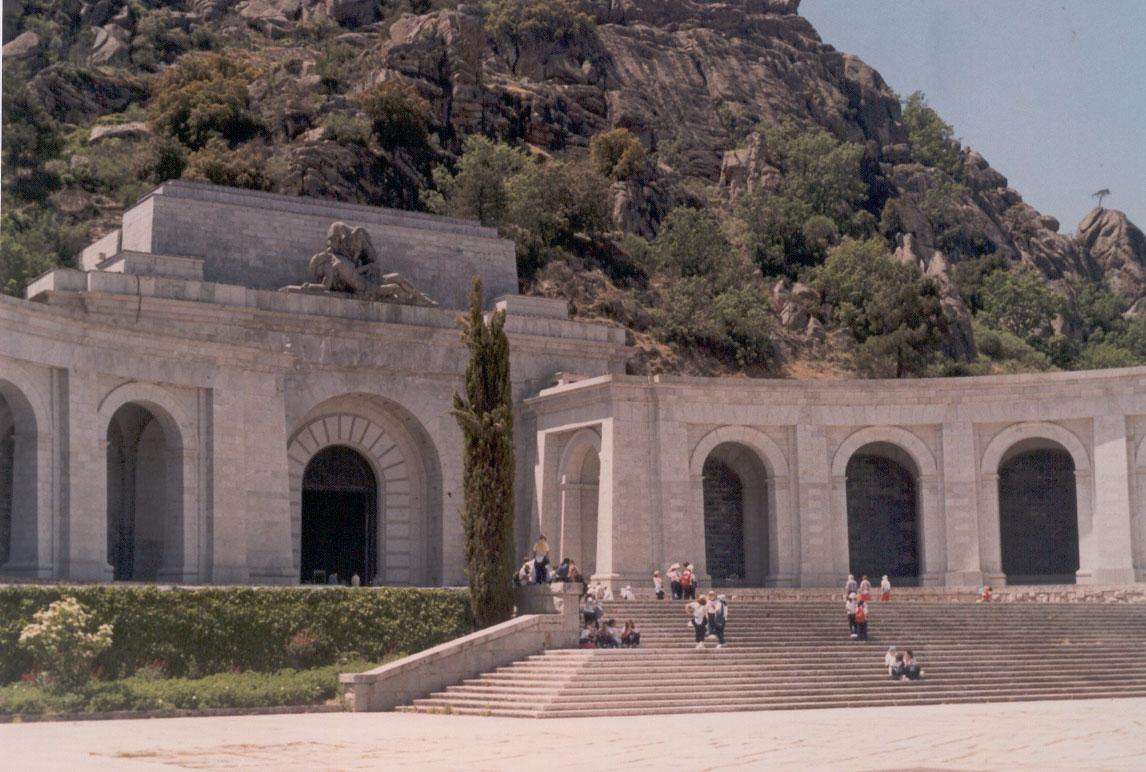 Valle de los Caídos, España (foto Darío Álvarez, 2005)