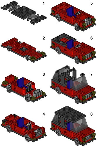 Example of Lego instructions