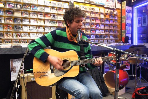 Woolly Leaves live! in-store performance at Music Trader on October 26 2006