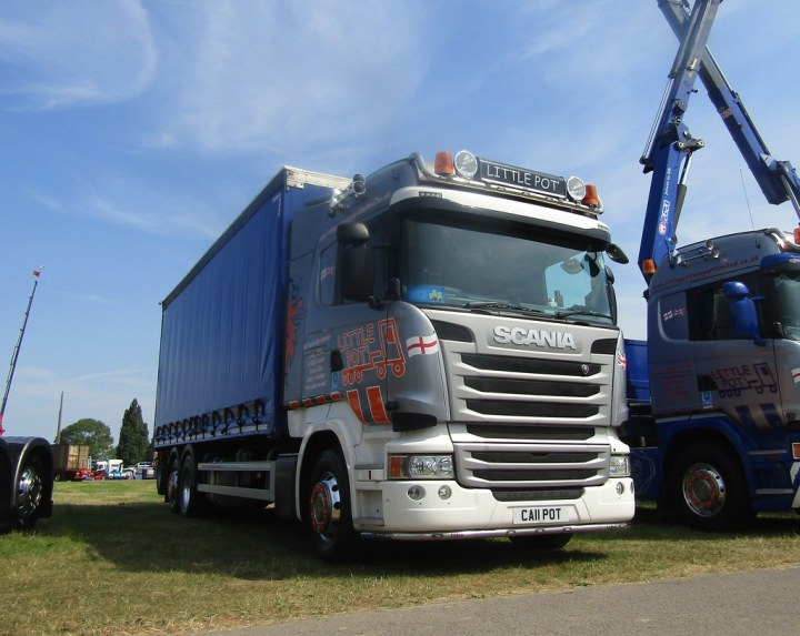 Little Pot Transport Ca11 At Truckfest Malvern Joshhowells27 Tags Lorry Truck Scania
