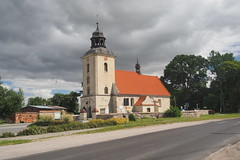 Country church at Nawra, Poland.