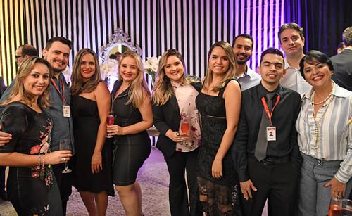 Aline, Gustavo, Jane Neves, Natália, Jamille, Rone, Nicolas, Luiz Sérgio e Patricia Barbosa