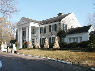 Graceland Estate in Memphis, Tennessee