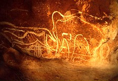20,000 Year Old Cave Paintings: Mammoth